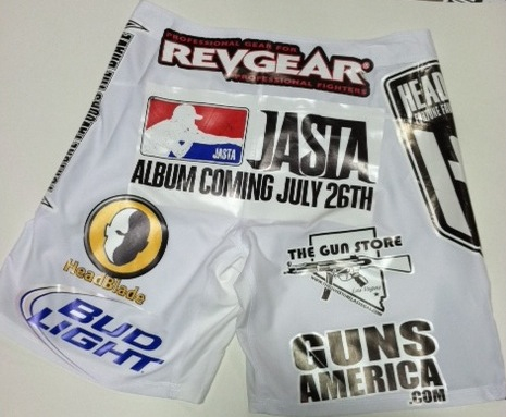 Shane Carwin UFC 131 Weigh-In Shorts
