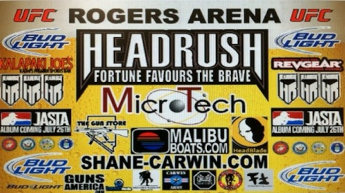 Shane Carwin UFC 131 Fight Banner